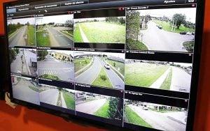 camara seguridad monitores