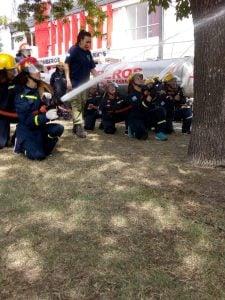 bomberos ejercicio