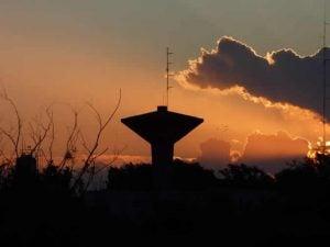 copa con nube tormenta