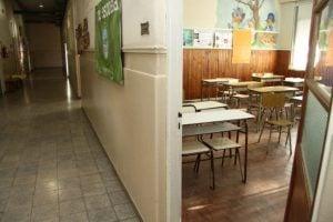 escuela vacía aula