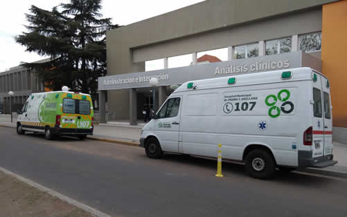 hospital ambulancia