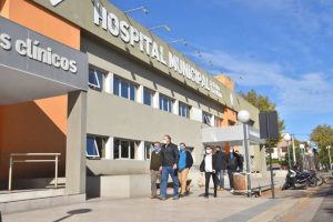 Berni hospital afuera