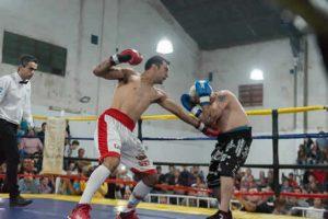sayago boxeando