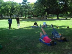 actividad fisica aire libre