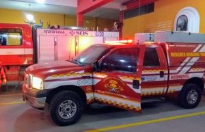bomberos movil rescate