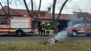fuego estufa frente