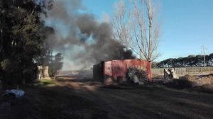 incendio materiales peligrosos