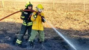 incendio pastizales ruta 2