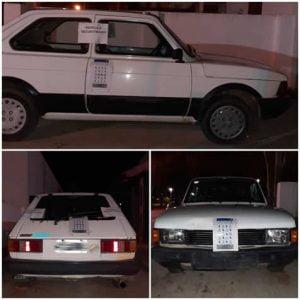 secuestro auto