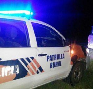 patrulla rural de noche va
