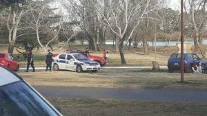 policia parque