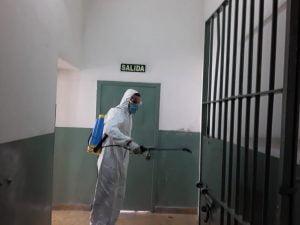 unidad penal higiene covid