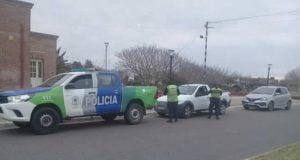 control policia transito calle