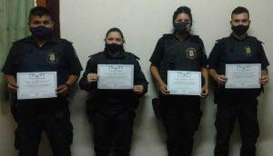 distincion policias