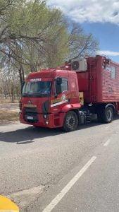 incendio san luis camion