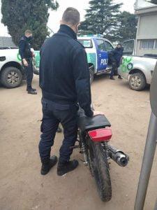 operativo moto secuestro
