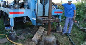 pozo de agua perforacion