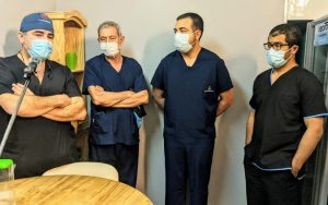 equipo medico hemodinamia