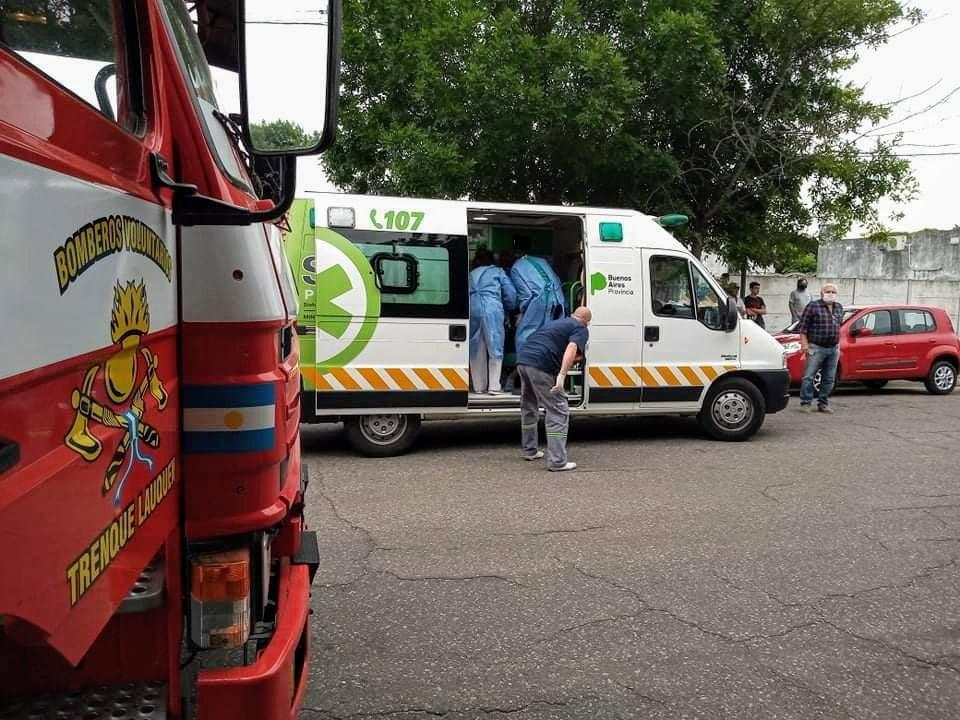 incendio ambulancia