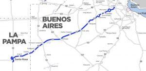 corredor B ruta