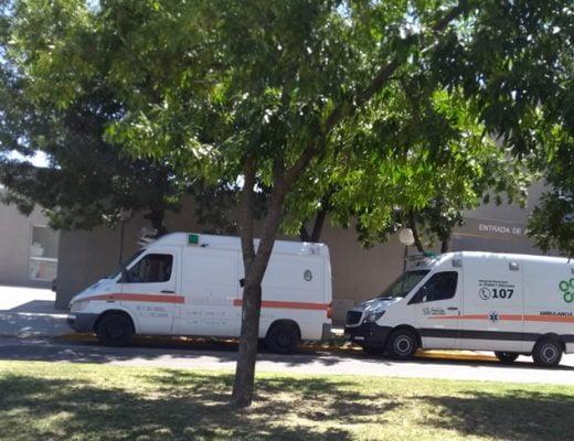 guardia hospital ambulancias