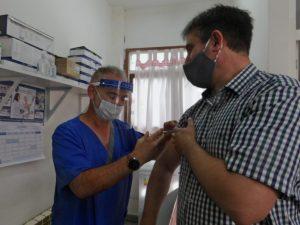 INTENDENTE miramar vacunado
