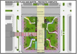plaza san martin proyecto