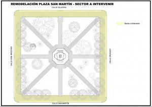 plaza san martin proyecto intervencion