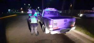 camioneta secuestrada