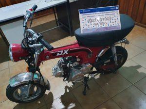 moto secuestrada