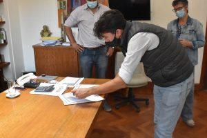 Firma de Actas obras en escuelas 3
