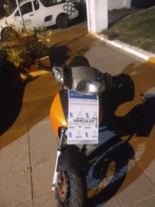 secuestro moto