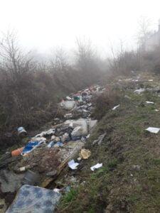 basura en canal