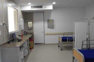 guardia del hospital