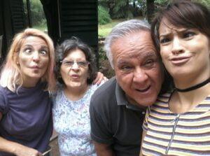 negro y familia
