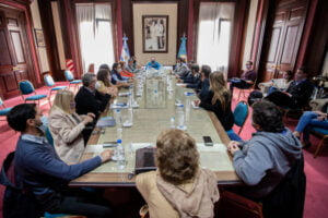 reunion provincia gremios